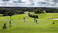 SAINT OMER (France) - Green hole 18. AA Saint-Omer Golf Club. Copyright Koen Suyk