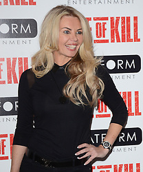 Clare Cadwell attends Age of Kill VIP Screening at the Ham Yard Hotel, Soho, London on Wednesday 1 April 2015