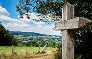 Omgeving van Bilieu, een dorp bij het meer van Paladru - Surroundings of the small village Bilieu near the lake of Baladru, France