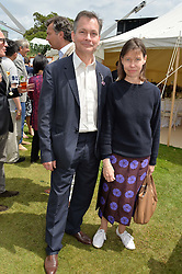 MR DANIEL & LADY SARAH CHATTO at the Cartier hosted Style et Lux at The Goodwood Festival of Speed at Goodwood House, West Sussex on 26th June 2016.