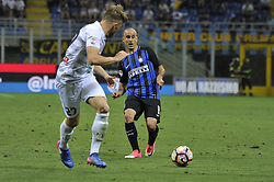 May 28, 2017 - Milan, Milan, Italy - Rodrigo Palacio of Inter in action during Serie A football, Inter Milan versus Udinese; .Inter wins last match of Serie A  for 5-2 against Udinese. (Credit Image: © Gaetano Piazzolla/Pacific Press via ZUMA Wire)