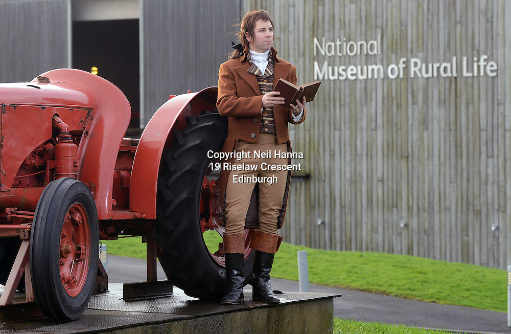 National Museum of Rural Life. <br />  Burns Unbound, 24th and 25th Jan in East Kilbride.<br /> <br />  Neil Hanna Photography<br /> www.neilhannaphotography.co.uk<br /> 07702 246823