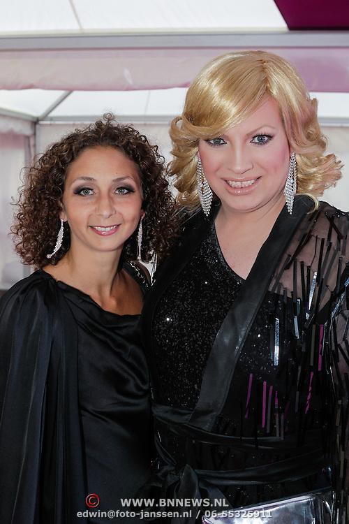 NLD/Amsterdam/20120602 - Amsterdamdiner 2012, Mayday en vriendin Birgit Junni