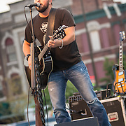 Tyler Farr performing at the 95Q Stage at Decatur Celebration, Decatur, Illinois, August 2, 2013. Photo: George Strohl