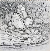 Laki Senanayake.  'Banks of the Mahaweli'.<br />