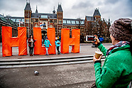 HUH LETTERS MUSEUMPLEIN