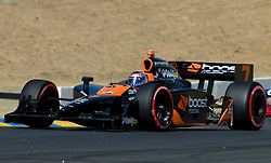 Danica Patrick (7) during the 2009 Sonoma Grand Prix IndyCar race was held at Infineon Raceway in Sonoma, California on August 23, 2009.