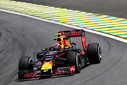 Max Verstappen (NLD) Red Bull Racing <br /> 11.11.2016. Formula 1 World Championship, Rd 20, Brazilian Grand Prix, Sao Paulo, Brazil, Practice Day.<br /> Copyright: Charniaux / XPB Images / action press