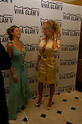 Danni Minogue and Pamela Anderson. Selfridges Las Vegas dinner hosted by  hon Galen , Hillary Weston and Allanah Weston. Selfridges Oxford St. 20 April 2005. ONE TIME USE ONLY - DO NOT ARCHIVE  © Copyright Photograph by Dafydd Jones 66 Stockwell Park Rd. London SW9 0DA Tel 020 7733 0108 www.dafjones.com