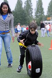 04-06-2011 VOETBAL: OLYMPIADE VV MAARSSEN: MAARSSEN<br /> De Interne Competitie, de F en de E tjes namen deel aan de Olympiade van vv Maarssen - Maik<br /> ©2011-FotoHoogendoorn.nl