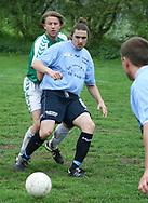 FODBOLD: Martin Buch-Frederiksen (Helsingør) under kampen i Kvalifikationsrækken, pulje 1, mellem AB og Elite 3000 Helsingør den 20. maj 2006 på Skovdiget Idrætsanlæg. Foto: Claus Birch