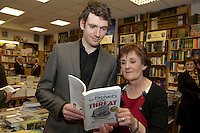 Founder of the Expect Success Academy, Galway based business and marketing strategist John Mulry launched his first book Your Elephant's Under Threat. At the launch was the author John Mulry and his mother Eileen.<br /> Your Elephant's Under Threat will be available from www.amazon.com and Charlie Byrne&rsquo;s Bookshop Galway from February 28th and retails at &euro;19.99<br /> &nbsp;Photo:Andrew Downes