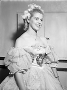 13/10/1952<br /> 10/13/1952<br /> 13 October 1952<br /> Variety Club of Ireland Dance at the Metropole Hotel, Dublin.<br /> Miss Ena Caffrey, 115 Parnell Road, Dublin as Cinderella.