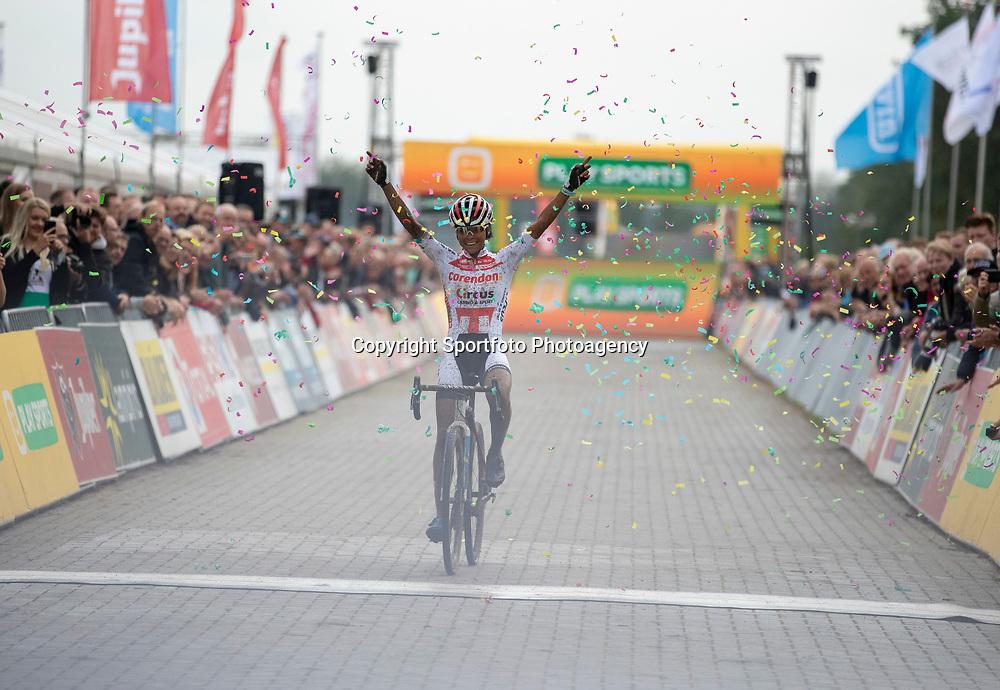 13-10-2019: Cycling: Superprestige Cyclocross: Gieten <br />Ceylin Del Carmen Alvarado wins firts race of Superprestige