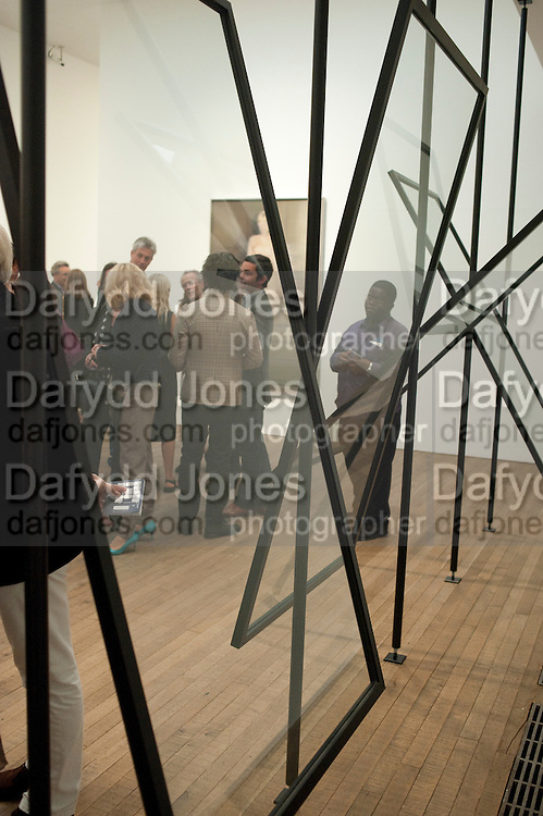 GERHARD RICHTER EXHIBITION, Gerhard Richter: Panorama. Tate Modern. London. 4 October 2011. <br /> <br />  , -DO NOT ARCHIVE-© Copyright Photograph by Dafydd Jones. 248 Clapham Rd. London SW9 0PZ. Tel 0207 820 0771. www.dafjones.com.