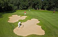 LEUSDEN - Hole 2. Golfclub De Hoge Kleij. COPYRIGHT KOEN SUYK