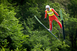 Killian Peier from Switzerland during Ski Jumping Continental Cup 2018, on July 8, 2018 in Kranj, Slovenia. Photo by Urban Urbanc / Sportida