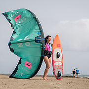 JULY 30, 2018---DORADO, PUERTO RICO---<br /> Karla Barrera-Morstad, owner of Goodwinds, a family owned waterspouts company operated in the Dorado Beach Resort. Mrs. Barrera-Morstad and her husband teach customers from beginners to experienced.<br /> (PHOTO BY ANGEL VALENITN)