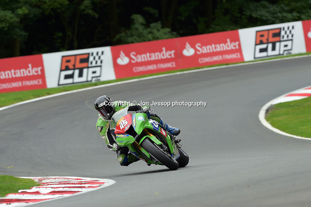 #45 Tom Fisher G&S Racing Kawasaki Pirelli National Superstock 1000