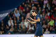 Edinson Roberto Paulo Cavani Gomez (El Matador) (El Botija) (Florestan) (PSG) reacts during the French Championship Ligue 1 football match between Paris Saint-Germain and AS Saint-Etienne on September 14, 2018 at Parc des Princes stadium in Paris, France - Photo Stephane Allaman / ProSportsImages / DPPI