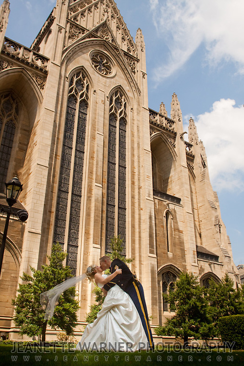 Joshua and Carly got married at the Heinz Chapel in Pittsburgh, Pennsylvania on August 27, 2011.