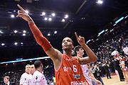 DESCRIZIONE : Milano Coppa Italia Final Eight 2013 Semifinale Acea Roma Cimberio Varese<br /> GIOCATORE : Adrian Banks <br /> CATEGORIA : esultanza scelta super<br /> SQUADRA : Acea Roma Cimberio Varese<br /> EVENTO : Beko Coppa Italia Final Eight 2013<br /> GARA : Acea Roma Cimberio Varese<br /> DATA : 09/02/2013<br /> SPORT : Pallacanestro<br /> AUTORE : Agenzia Ciamillo-Castoria/C.De Massis<br /> Galleria : Lega Basket Final Eight Coppa Italia 2013<br /> Fotonotizia : Milano Coppa Italia Final Eight 2013 Quarti di Finale Semifinale Acea Roma Cimberio Varese<br /> Predefinita :