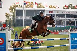 Mansur Guerios Yuri, BRA, Babylotte<br /> Spruce Meadows Masters - Calgary 2017<br /> © Hippo Foto - Dirk Caremans<br /> 09/09/2017,