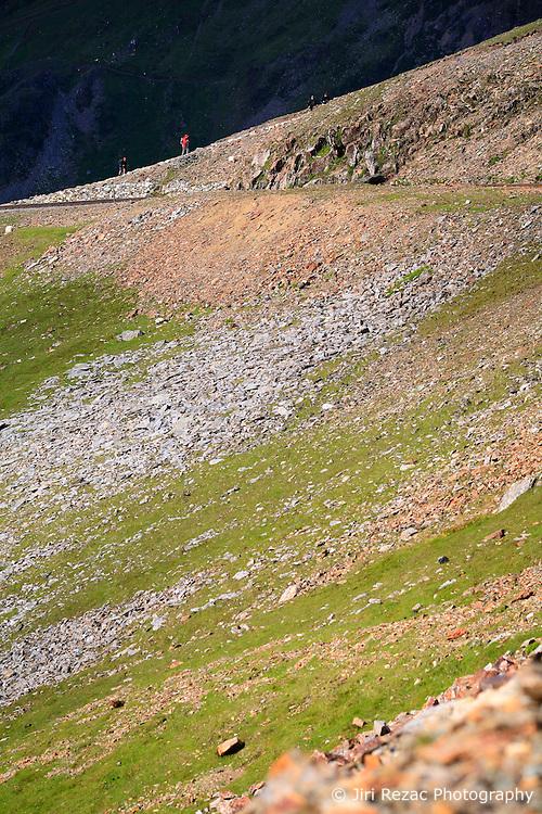 UK WALES LLANBERIS 15JUN08 - Hikers ascend Mount Snowdon, the last of the mountains of the Three Peaks Challenge Event in Snowdonia National Park, Wales...jre/Photo by Jiri Rezac ..© Jiri Rezac 2008..Contact: +44 (0) 7050 110 417.Mobile:  +44 (0) 7801 337 683.Office:  +44 (0) 20 8968 9635..Email:   jiri@jirirezac.com.Web:    www.jirirezac.com..© All images Jiri Rezac 2008 - All rights reserved.