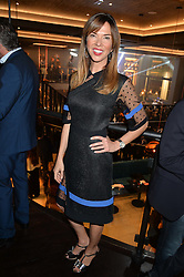 HEATHER KERZNER at a party to celebrate the opening of 'M' a new restaurant & bar at 2 Threadneedle Walk, 60 Threadneedle Street, City of London on 12th November 2014.