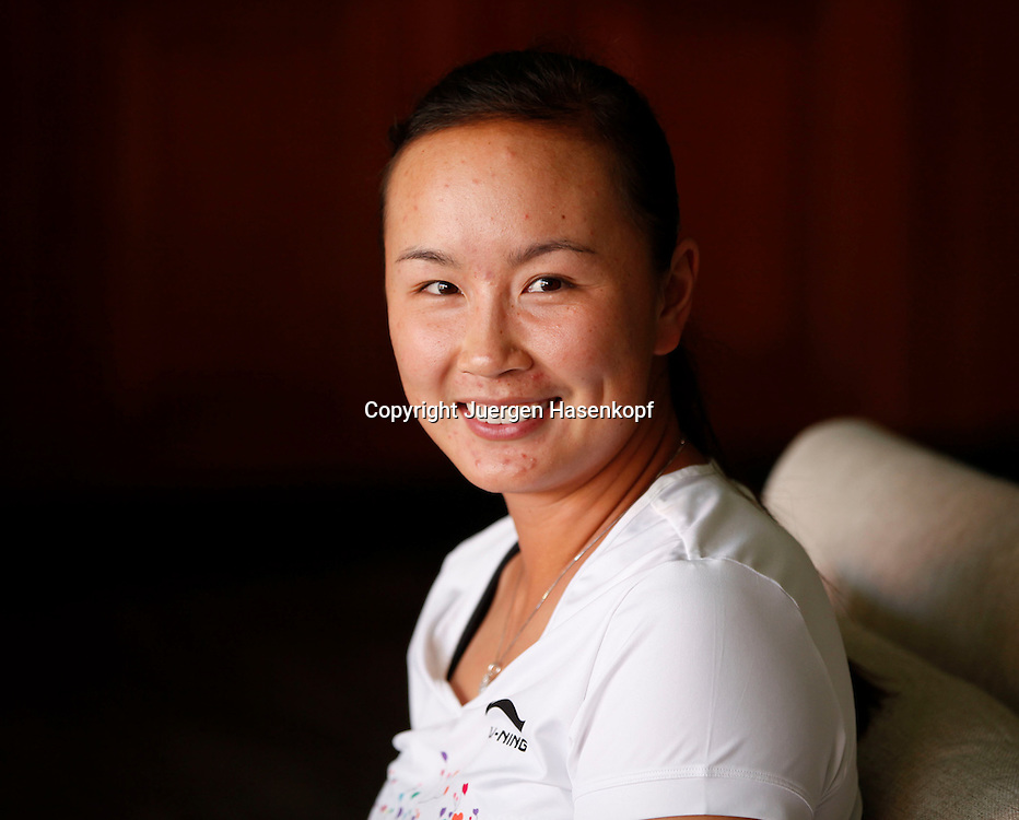 Commonwealth Bank Tournament of Champions  2011, WTA Tour, Damen Hallen Tennis Turnier in Bali ,Indonesien, .Peng Shuai (CHN),privat, Einzelbild,Portrait,Querformat,privat,
