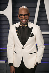 February 24, 2019 - Beverly Hills, California, U.S - Karamo Brown at the 2019 Vanity Fair Oscar Party held at the Wallis Annenberg Center in Beverly Hills, California on Sunday February 24, 2019. JAVIER ROJAS/PI (Credit Image: © Prensa Internacional via ZUMA Wire)