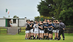 Kilmeena before the junior championship play off match in Islandeady on sunday.<br /> Pic Conor McKeown