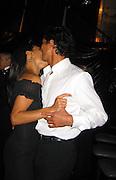 Benjamin Brat & Talisa Soto.DreamWorks Post Party.Beverly Hilton Trader Vics Restaurant.Los Angeles, Ca.Sunday January 28, 2002.Photo By CelebrityVibe.com..