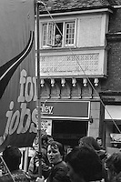 People's  March for Jobs, Yorkshire and Liverpool to London. Hitchin 24/05/1981