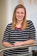 Environmental portrait of Cynthia Sides at the University of Arkansas in Fayetteville, Arkansas.
