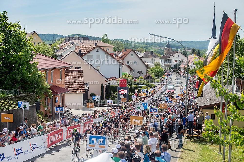 Radsport: 36. Bayern Rundfahrt 2015 / 3. Etappe, Selb - Ebern, 15.05.2015<br /> Cycling: 36th Tour of Bavaria 2015 / Stage 3, <br /> Selb - Ebern, 15.05.2015<br /> Ziel - Arrival,