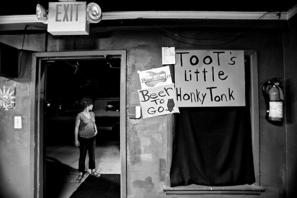 Toot's Little Honkey Tonk is a small dive bar in Knoxville, TN. filled with some friendly people.