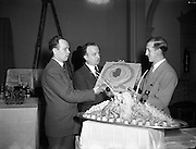 'Liberty' Special at Culinary Exhibition at Mansion House.20/04/1954