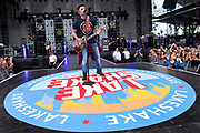 CHICAGO, IL - JUNE 24: Michael Ray performs during the Lakeshake Festival at Huntington Bank Pavilion at Northerly Island on June 24, 2017 in Chicago, Illinois. (Photo by Michael Hickey/Getty Images) *** Local Caption *** Michael Ray