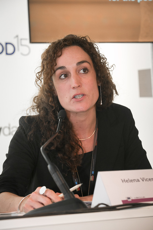 03 June 2015 - Belgium - Brussels - European Development Days - EDD - Gender - Women's empowerment - Key lessons for financing and measuring gender equality - Helena Vicente Salazar ,  Advocacy and Education head of Department , Agencia Catalana de Cooperacio al Desenvolupament © European Union