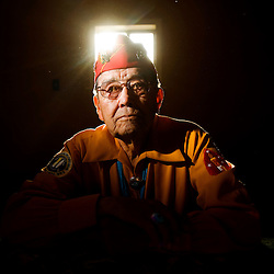 Navajo Code Talker Frank Chee Willetto