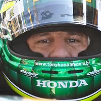 Tony Kanaan at Indycar March 2011, St Petersburg