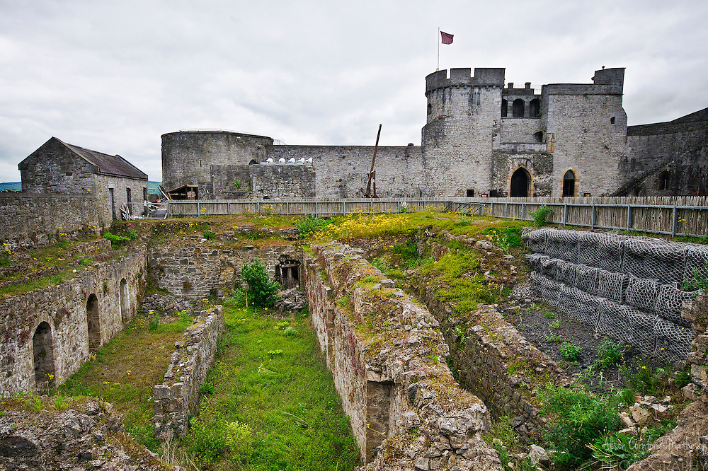 King John's Castle is a fortification on King's Island in Limerick, Ireland.