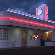 66 Diner on Route 66 in Albuquerque, New Mexico