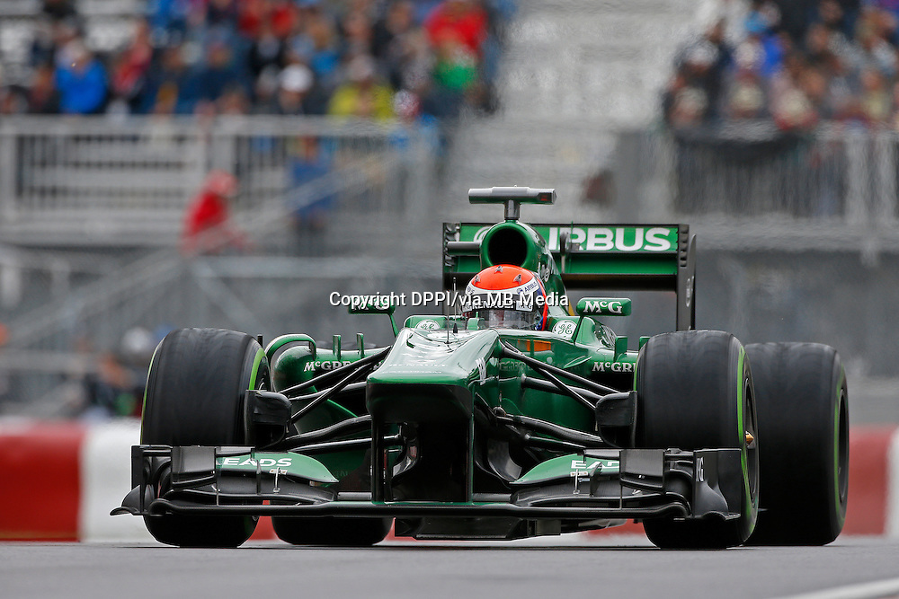 MOTORSPORT - F1 2013 - GRAND PRIX OF CANADA - MONTREAL (CAN) - 07 TO 09/06/2013 - PHOTO FRANCOIS FLAMAND / DPPI - ROSSI ALEXANDER (USA) - TEST DRIVER - CATERHAM RENAULT CT03 - ACTION