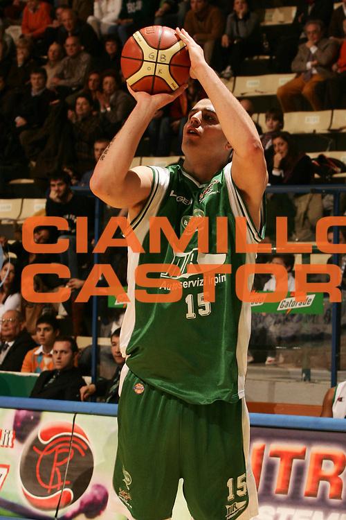 DESCRIZIONE : Siena Lega A1 2006-07 Montepaschi Siena Air Avellino <br /> GIOCATORE : Maioli <br /> SQUADRA : Air Avellino <br /> EVENTO : Campionato Lega A1 2006-2007 <br /> GARA : Montepaschi Siena Air Avellino <br /> DATA : 24/02/2007 <br /> CATEGORIA : Tiro <br /> SPORT : Pallacanestro <br /> AUTORE : Agenzia Ciamillo-Castoria/P.Lazzeroni