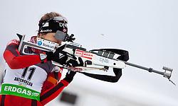 "19.01.2012, Südtirol Arena, Antholz, ITA, E.ON IBU Weltcup, 6. Biathlon, Antholz, Sprint Damen, im Bild Birgitte Roeksund (NOR) // Birgitte Roeksund (NOR) during Sprint Women E.ON IBU World Cup 6th, ""South Tyrol Arena"", Antholz-Anterselva, Italy on 2012/01/19, EXPA Pictures © 2012, PhotoCredit: EXPA/ Juergen Feichter"