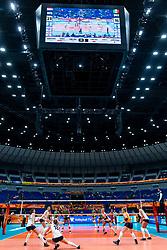 03-10-2018 JPN: World Championship Volleyball Women day 6, Yokohama<br /> Netherlands - Mexico 3-0 / Reception Marrit Jasper #18 of Netherlands