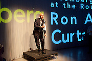 MARCUS DAVID, Curtain Call. Opening of Ron Arad's new installation and the 5th Anniversary of the  Roundhouse, The Roundhouse. London. 8 August 2011. <br /> <br />  , -DO NOT ARCHIVE-© Copyright Photograph by Dafydd Jones. 248 Clapham Rd. London SW9 0PZ. Tel 0207 820 0771. www.dafjones.com.
