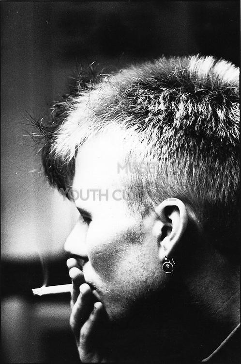 Band member Vince Clarke from Depeche Mode, Basildon circa 1981